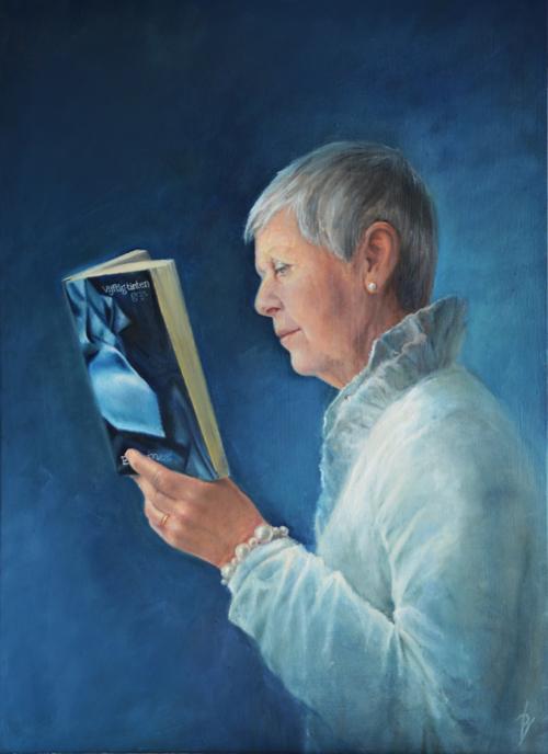 Schilderij Desiree Verkerk 50 tinten grijs realistische kunst