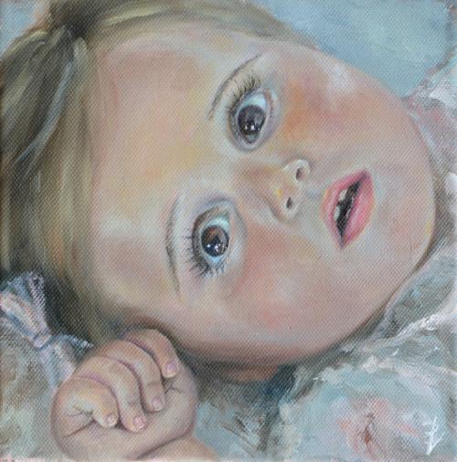 Schilderij Desiree Verkerk Fijnschilder realitsische kunst