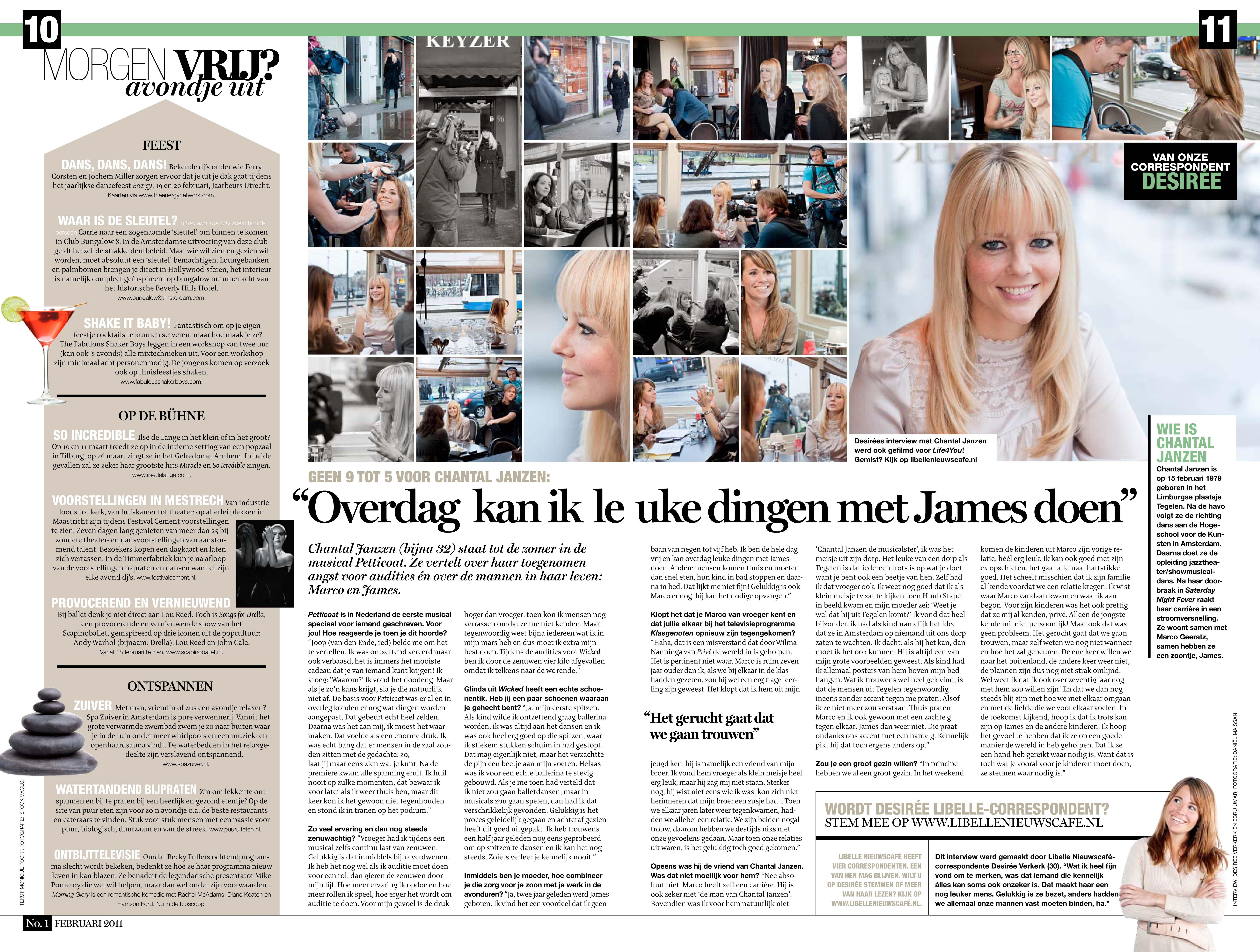 Chantal Janzen Libbel Nieuwscafe
