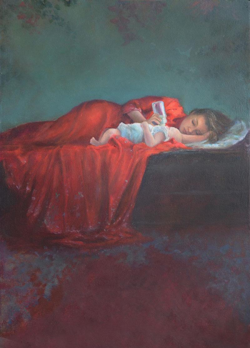 Portretschilder, realistisch