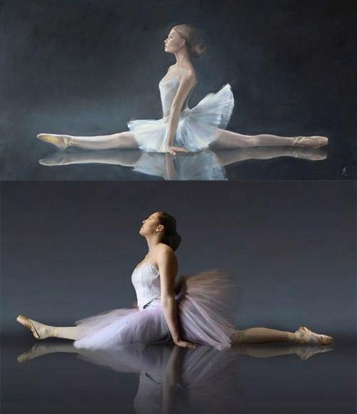 Ballerina spagaat