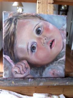 Desiree Verkerk fijnschilder portretten