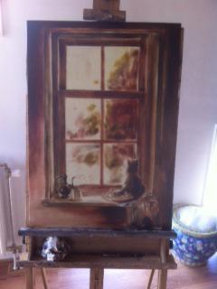 de eerste onderschildering