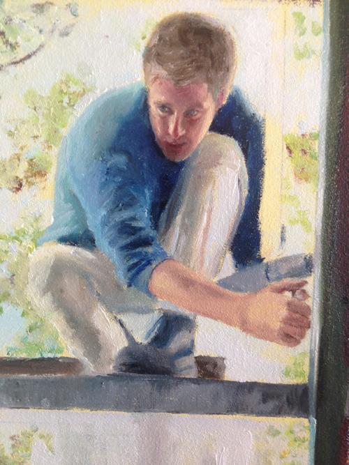 Proces schilderij Desiree Verkerk