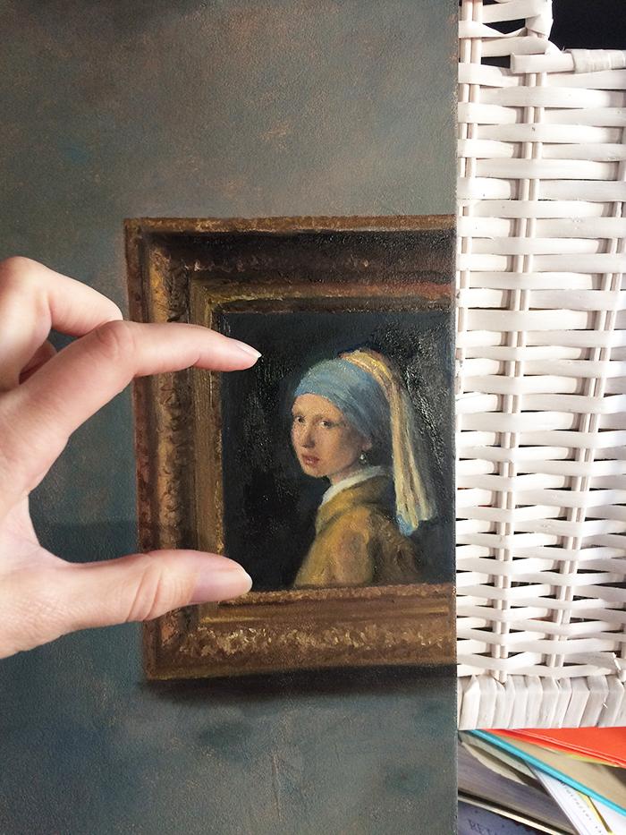 Meisje van Vermeer nog in ontwikkeling